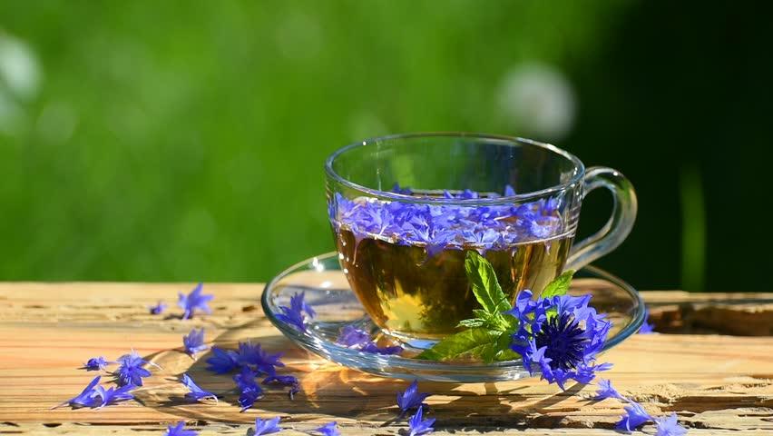 cornflower-tea
