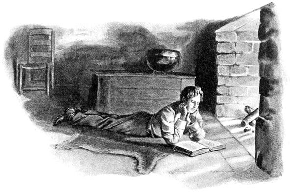Abraham-Lincoln-Childhood-Reading