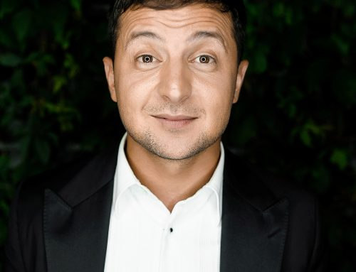 Volodymyr Zelenskyi, a popular presenter