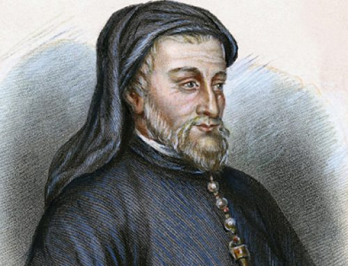 "Geoffrey Chaucer and ""The Canterbury Tales"""