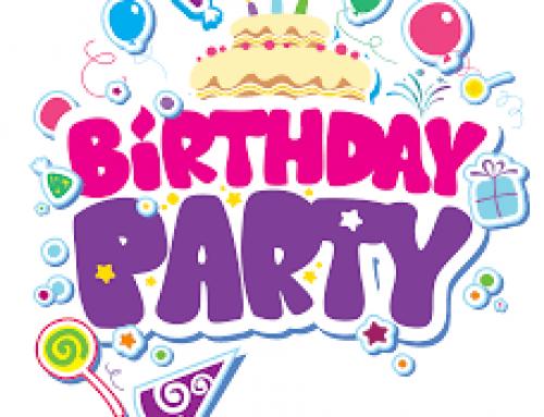 My last birthday party