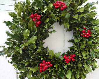 holly-wreath