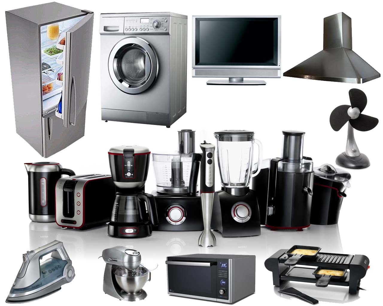 Buy Electrical Appliances on year-end sale
