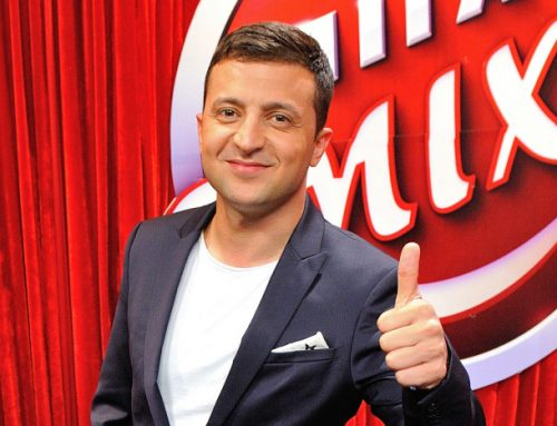 Volodymyr Zelenskiy, a Famous TV Personality