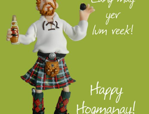 Hogmanay  and  First  Footing
