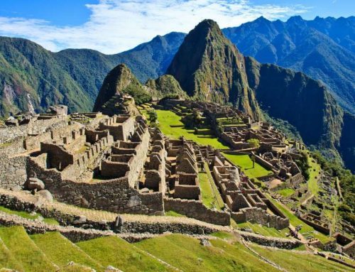 Machu Picchu City in Heaven