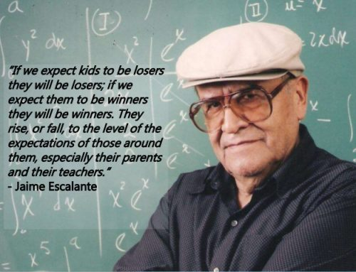 Famous Educator Jaime Escalante