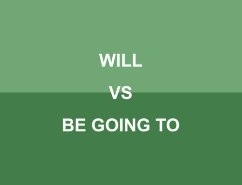 Will vs Be Going to
